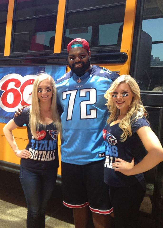 Michael Oher, Subject of The Blind Side & NFL Player, Tennessee Titans