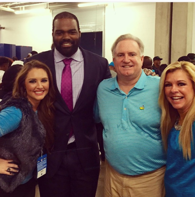 Sean 'SJ' Tuohy works for Arkansas' college football team ...   Blind Side Michael Oher Sister